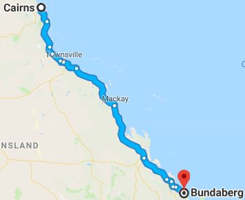 Cairns to Bundaberg Removals, Backloading and Moving Company
