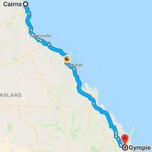 Cairns to Gympie Removals, Backloading and Moving Company