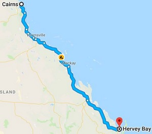 Cairns to Hervey Bay Removals, Backloading and Moving Company